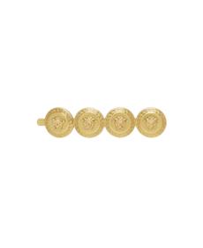 Versace Gold Medusa Tribute Barette.