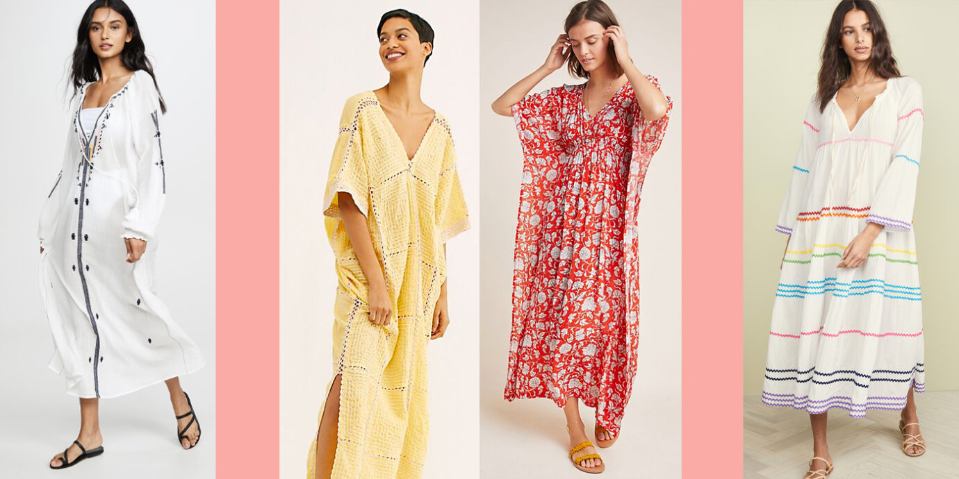 21 Caftan Dresses That Make Super-Glamorous Cover-Ups.
