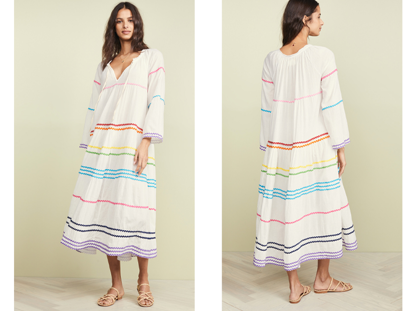 9seed Majorca Long Sleeve Maxi Dress.
