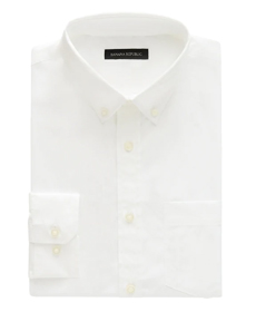 Banana Republic Slim-Fit Tech-Stretch Cotton Shirt.