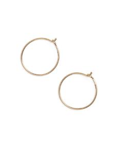 Delicate Wire Hoop Earrings MADEWELL.