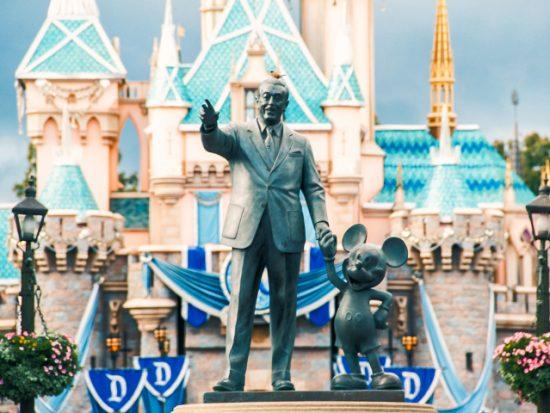 Disney Statue in Disney World.