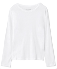 Everlane The Air Long-Sleeve Tee.