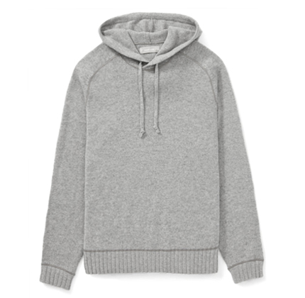 Everlane The Heavyweight Cashmere Hoodie.