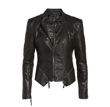 Faux Leather Jacket BLANKNYC.