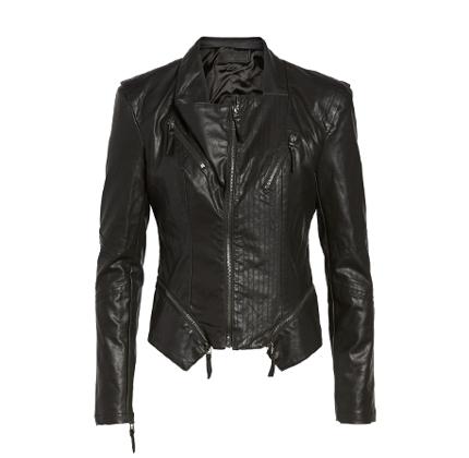 Faux Leather Jacket BLANKNYC.