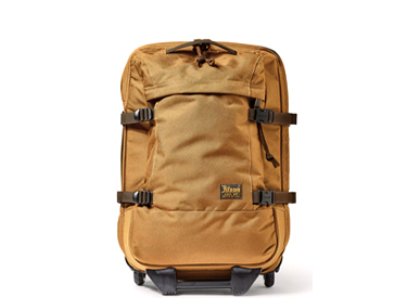 Filson DRYDEN ROLLING 2-WHEEL CARRY-ON BAG.
