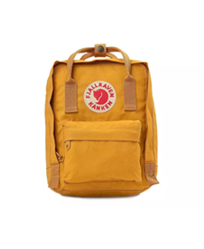 Fjallraven Kanken Mini Backpack ochre.