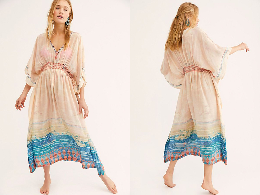 Free People Sunset Maxi Kaftan.