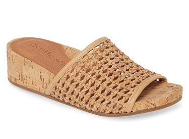 Gentle Souls by Kenneth Cole Gianna Slide Sandal GENTLE SOULS SIGNATURE.