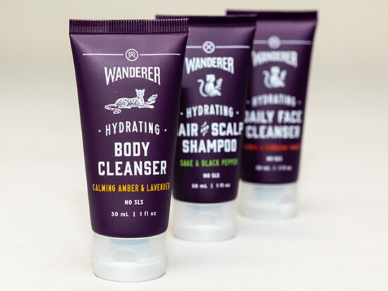 Hydrating Body Cleanser Calming Amber & lavender.