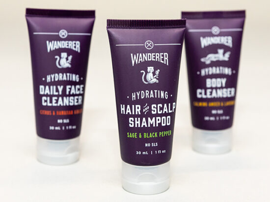 Hydrating Hair & Scalp Shampoo Sage & Black Pepper.