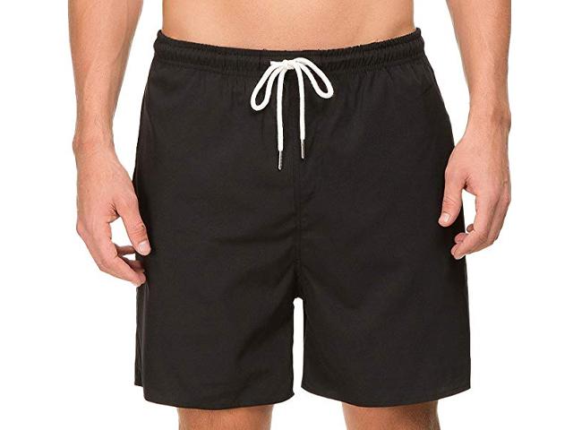 Janmid Mens Quick Dry Swim Shorts.