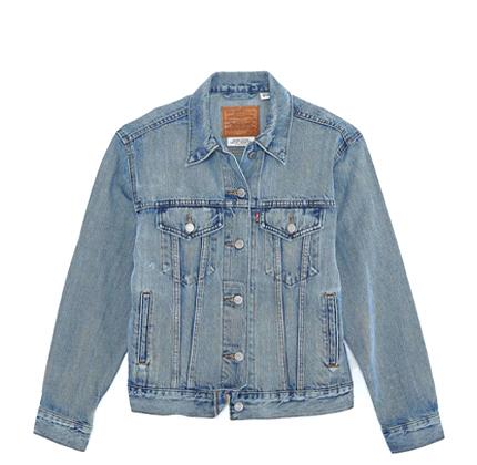 Levi's Ex-Boyfriend Trucker Jacket.