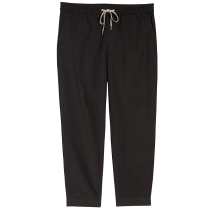 Luckett Straight Leg Cotton & Linen Pants ALLSAINTS.