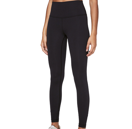 "Lululemon Wunder Under High-Rise Tight 28"" Full-On Luxtreme."