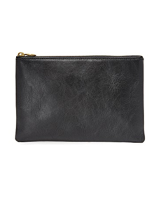 Madewell The Leather Pouch Clutch.