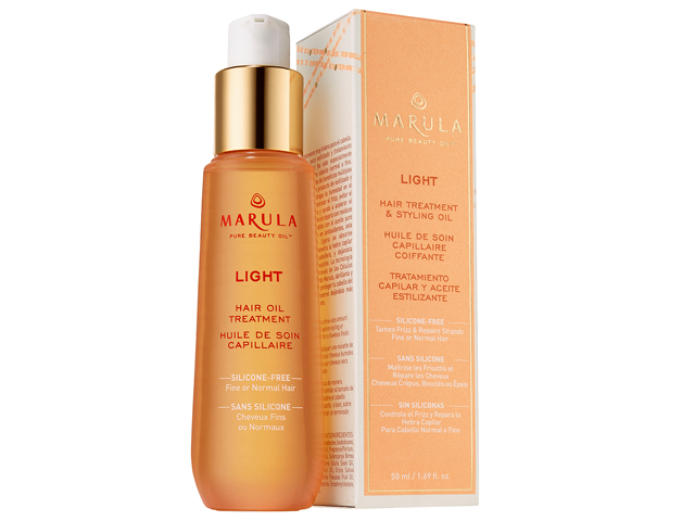 Marula LIGHT HAIR TREATMENT & STYLING OIL.