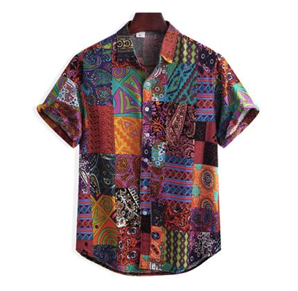 Newchic Floral Printing Shirt.