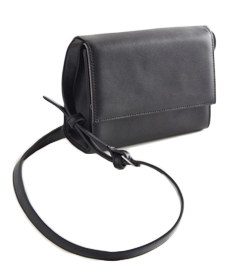 Smooth Flap Crossbody Bag