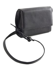 Smooth Flap Crossbody Bag