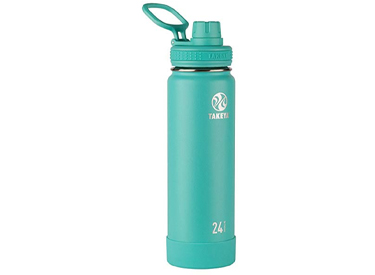 Takeya Actives Insulated Stainless Water Bottle.
