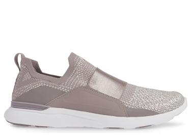 TechLoom Bliss Metallic Knit Running Shoe APL.