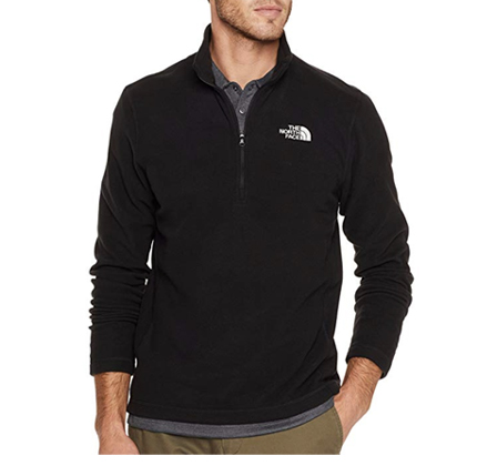 The North Face Men's TKA 100 Glacier 1/4 Zip.