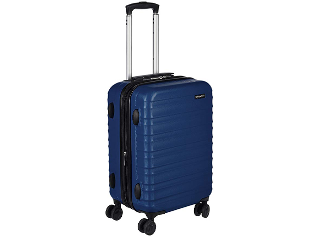 AmazonBasics Hardside Spinner Luggage - 20-Inch.