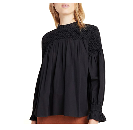 Anthropologie Modern Peasant Blouse.