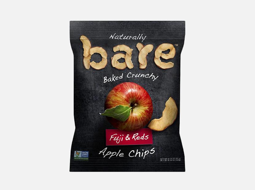 Bare Natural Apple Chips.