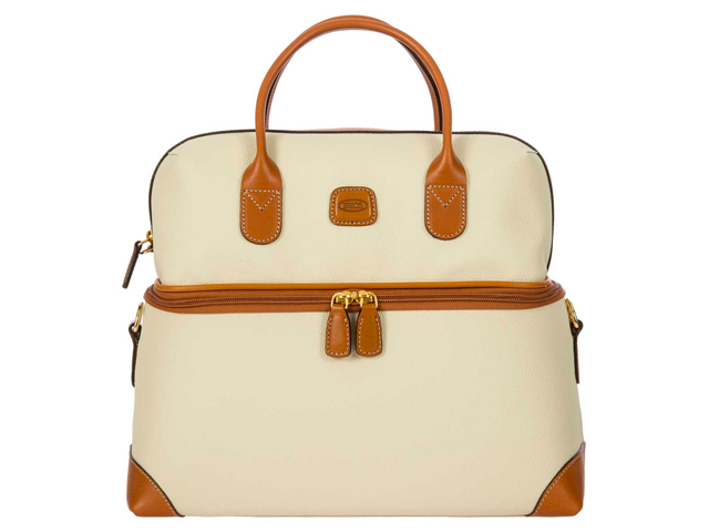 Bric FIRENZE TUSCAN TRAIN CASE - CREAM.