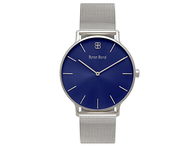 Byron Bond Mark 3 Men's Luxury Slim Watch.