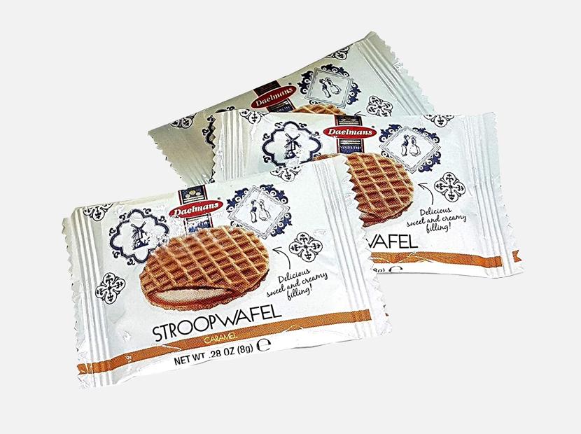 Daelmans Mini Caramel Stroopwafels.