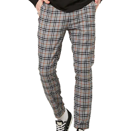 Forever21 Plaid Drawstring Pants.