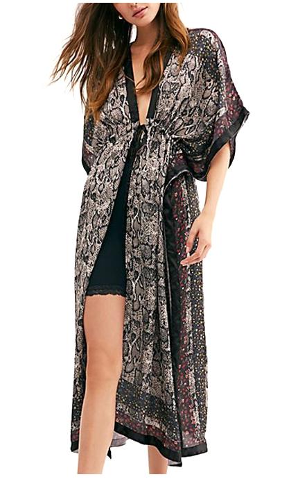 Free People Haze Print Kimono.