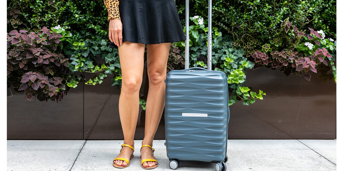 Hard-Sided Suitcase That Converted Me From a Lifetime of Soft-Sided Suitcases.