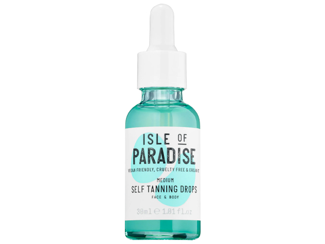 Isle of Paradise Self Tanning Drops.