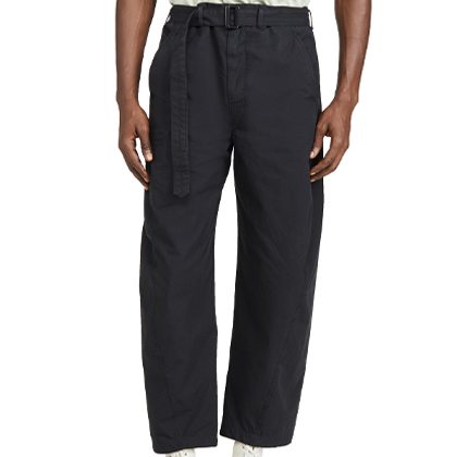 Lemaire Cotton Ventile Twisted Pants.