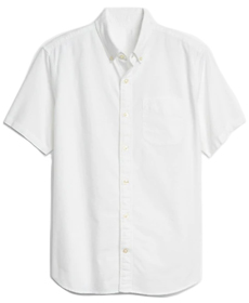 Lived-In Stretch Oxford Short Sleeve Shirt.