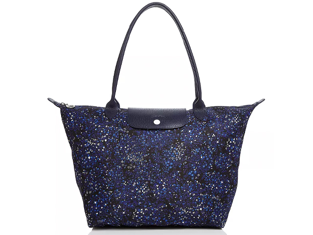 Longchamp Le Pliage Large Fleur Shoulder Tote.