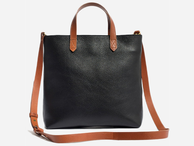 Madewell Small Transport Leather Crossbody.