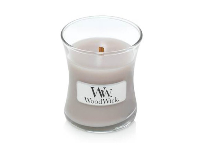 PALO SANTO - WoodWick Mini Hourglass Scented Jar Candle.