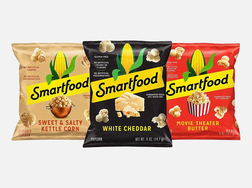 Smartfood Popcorn Variety Pack.