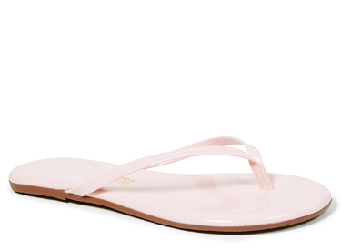 TKEES Gloss Flip Flops.
