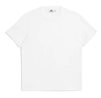 Topman White Slim Fit T-Shirt.
