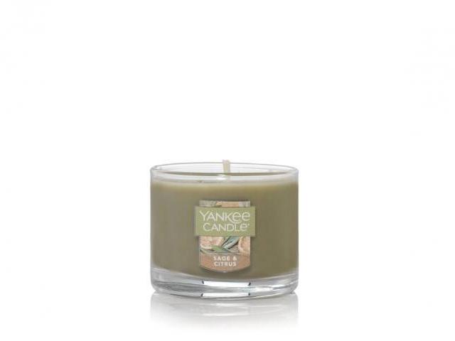 Yankee Candle Sage & Citrus.