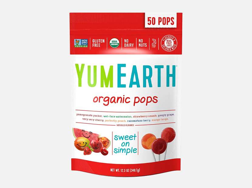 YumEarth Organic Lollipops, Assorted Flavors.