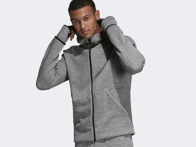 ADIDAS Z.N.E. FAST RELEASE HOODIE.