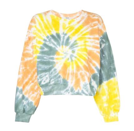 AGOLDE Richie Tie-Dyed Sweatshirt.